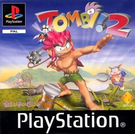 tombi 2 - Najdroższe gry na PSX wydane w regionie PAL