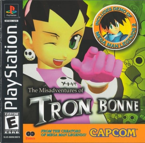 tron bonne 1 - Najdroższe gry na PSX wydane w regionie NTSC-U/C