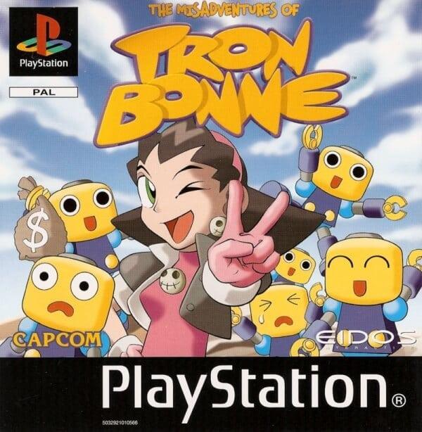 tron bonne - Najdroższe gry na PSX wydane w regionie PAL