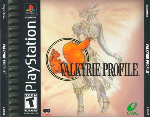 valkyrie profile - Najdroższe gry na PSX wydane w regionie NTSC-U/C