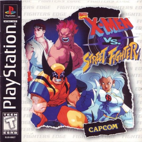 xmen vs street fighter - Najdroższe gry na PSX wydane w regionie NTSC-U/C