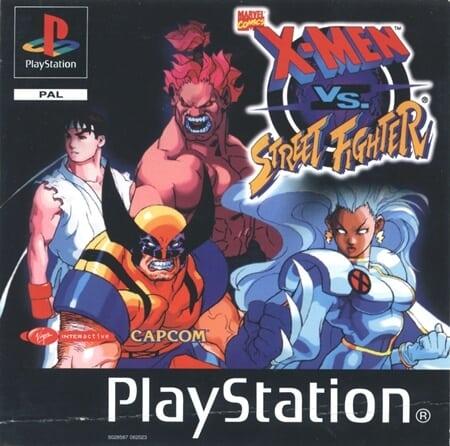 xmen vs street fighter pal - Najdroższe gry na PSX wydane w regionie PAL