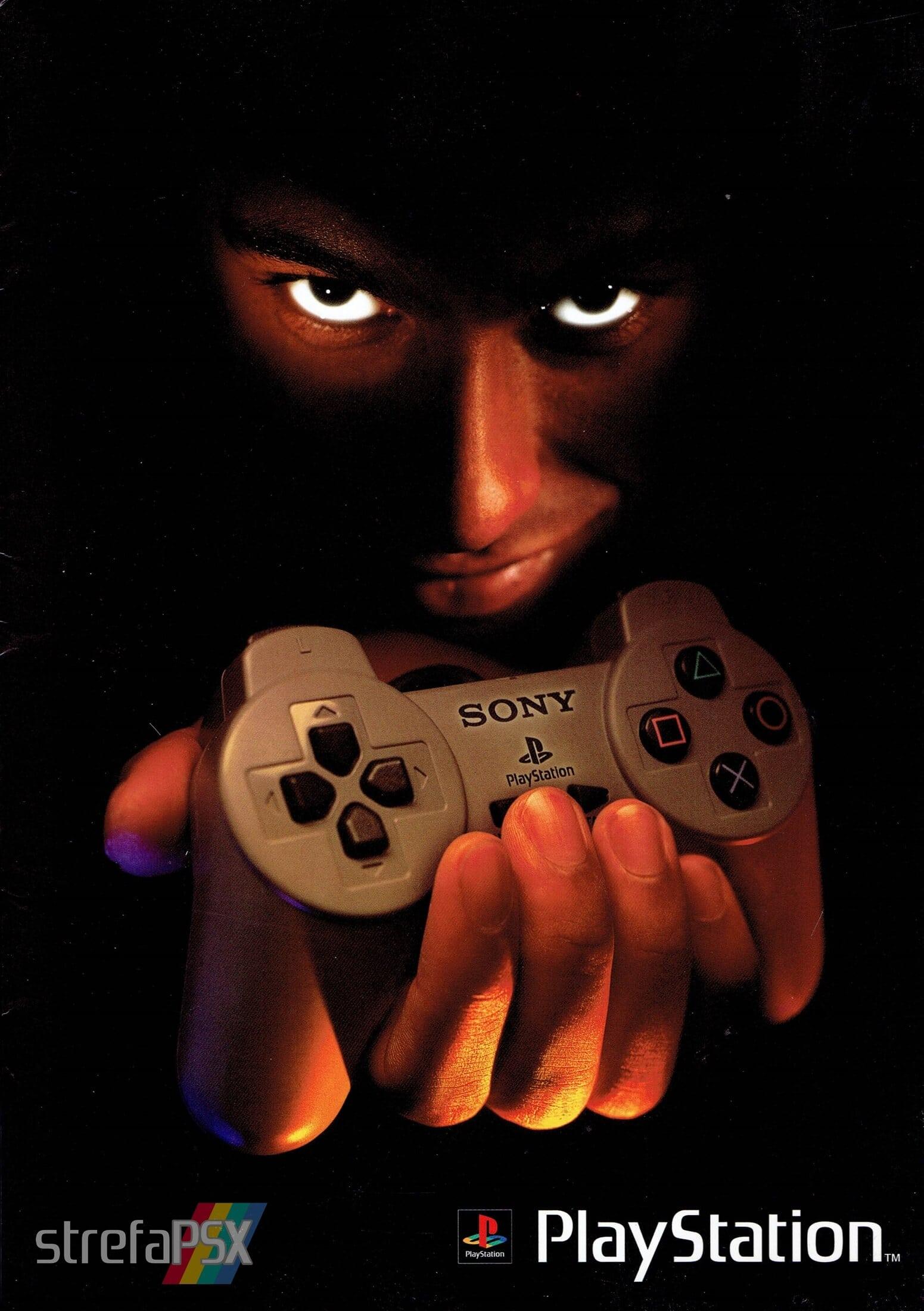 broszura reklamowa psx 01 - Broszury reklamowe PlayStation z dawnych lat