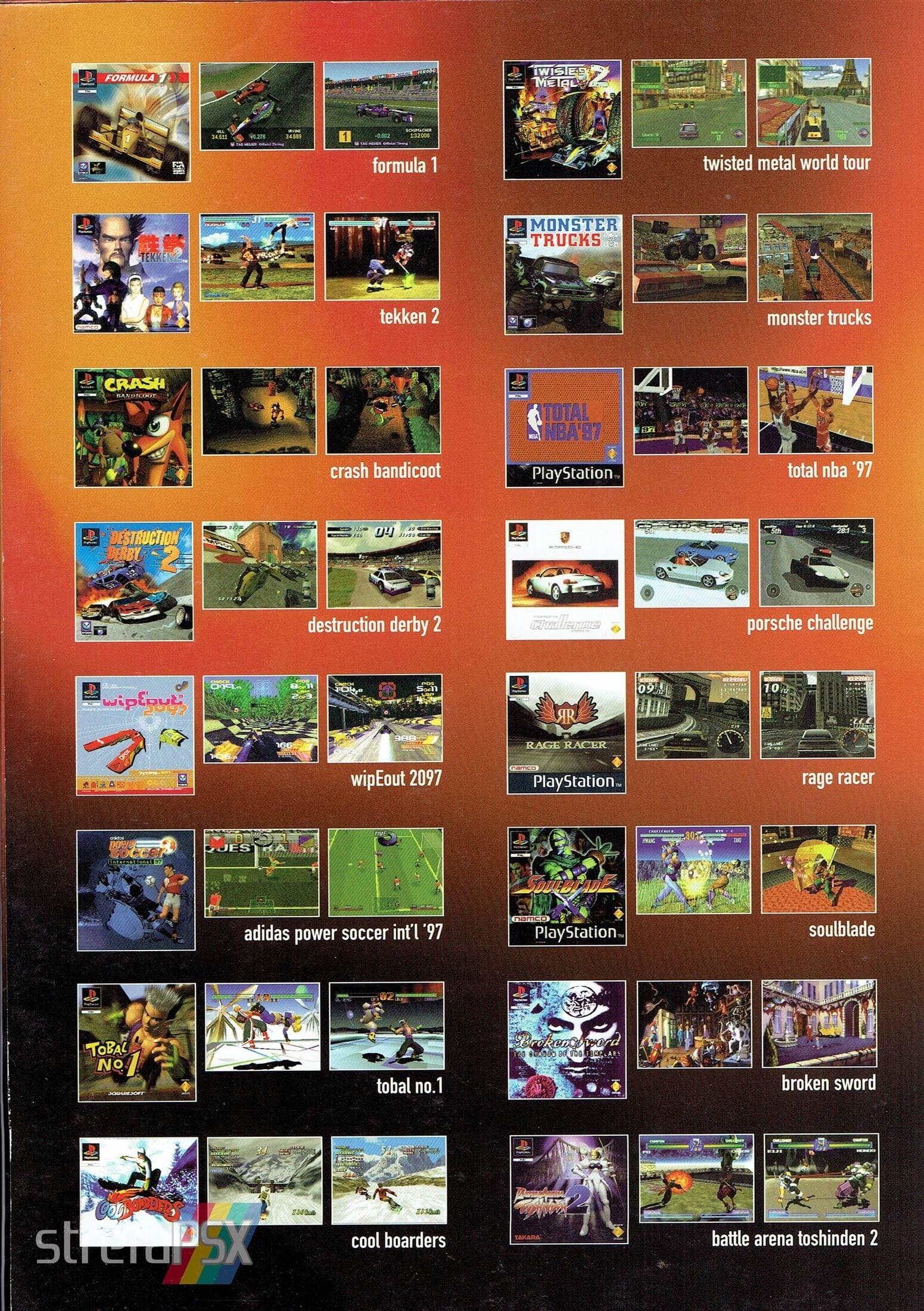 broszura reklamowa psx 02 - Broszury reklamowe PlayStation z dawnych lat
