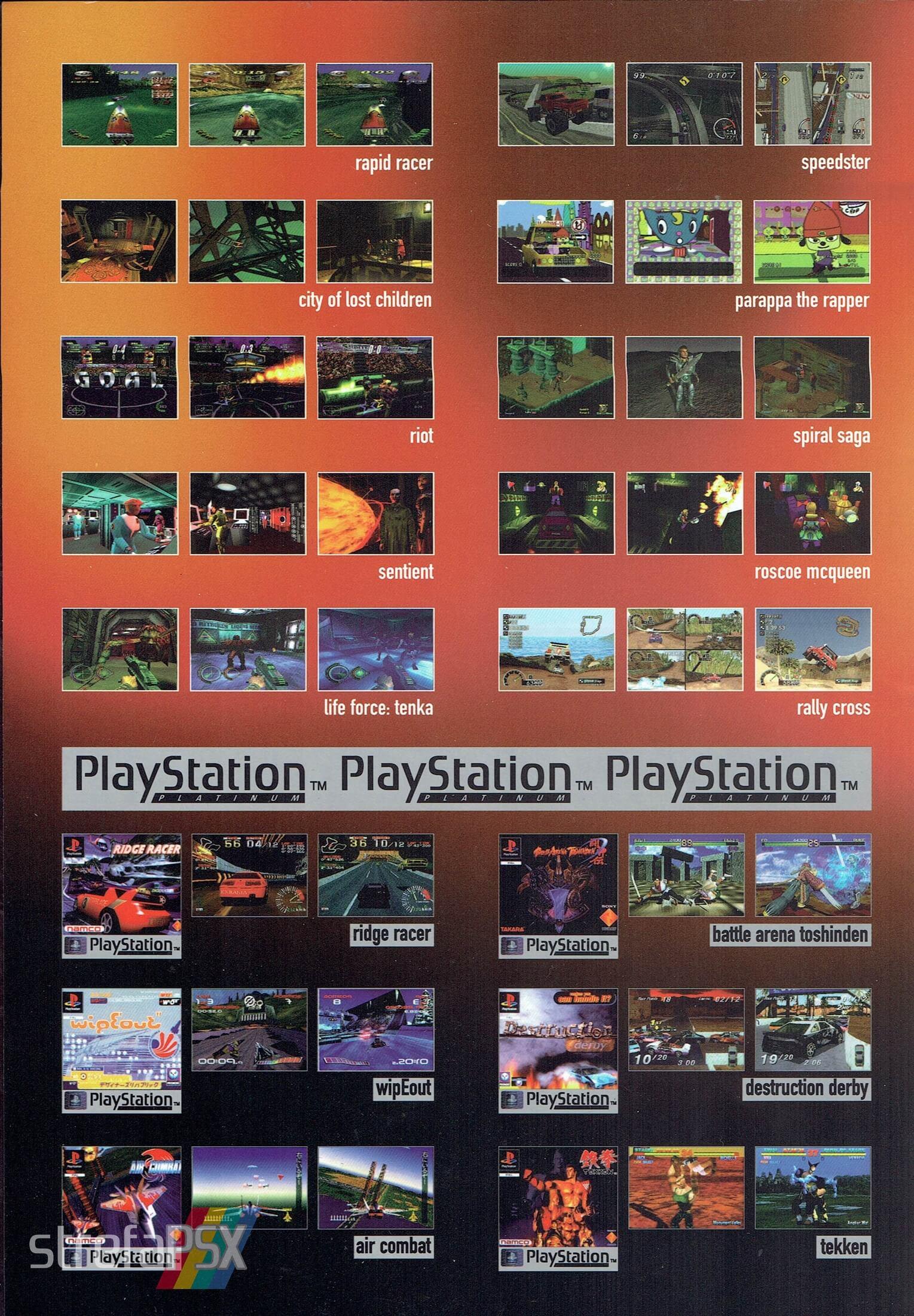 broszura reklamowa psx 05 - Broszury reklamowe PlayStation z dawnych lat