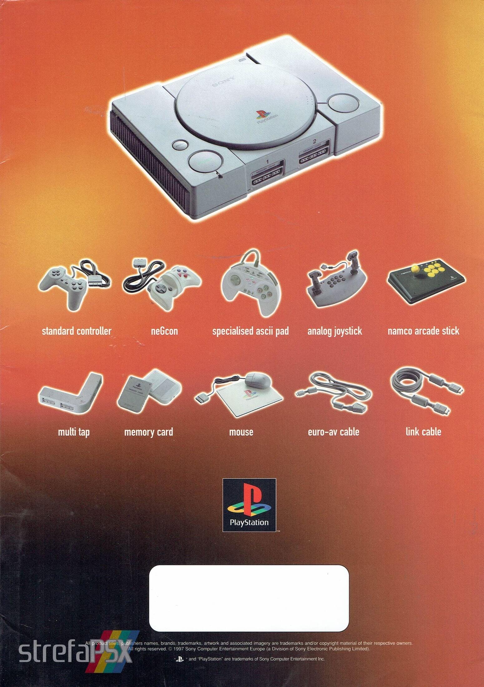 broszura reklamowa psx 06 - Broszury reklamowe PlayStation z dawnych lat