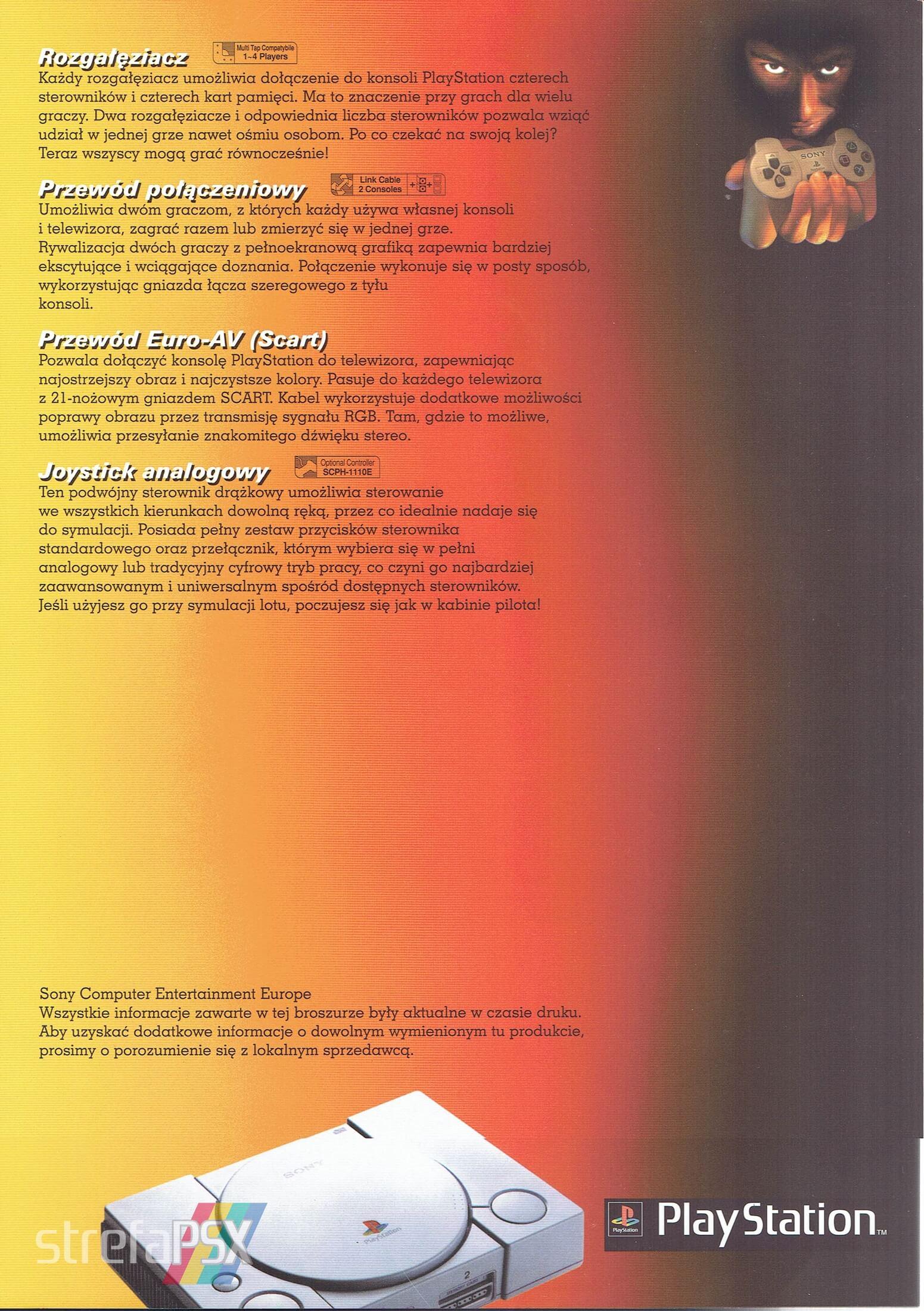 broszura reklamowa psx 08 - Broszury reklamowe PlayStation z dawnych lat