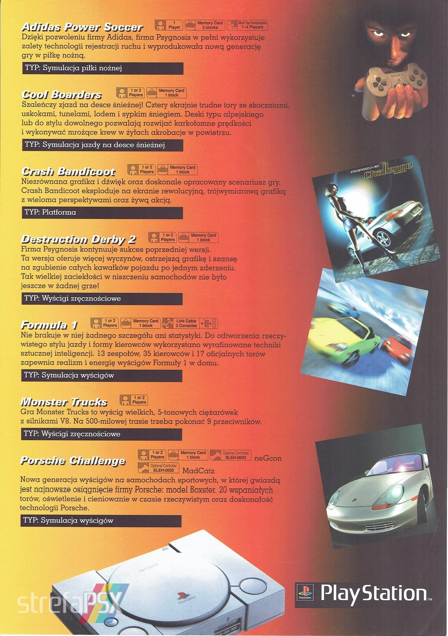 broszura reklamowa psx 15 - Broszury reklamowe PlayStation z dawnych lat