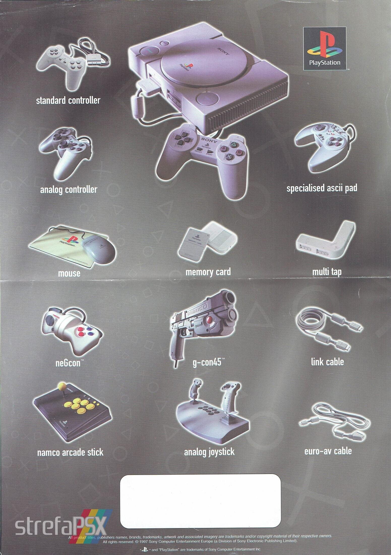 broszura reklamowa psx 18 - Broszury reklamowe PlayStation z dawnych lat