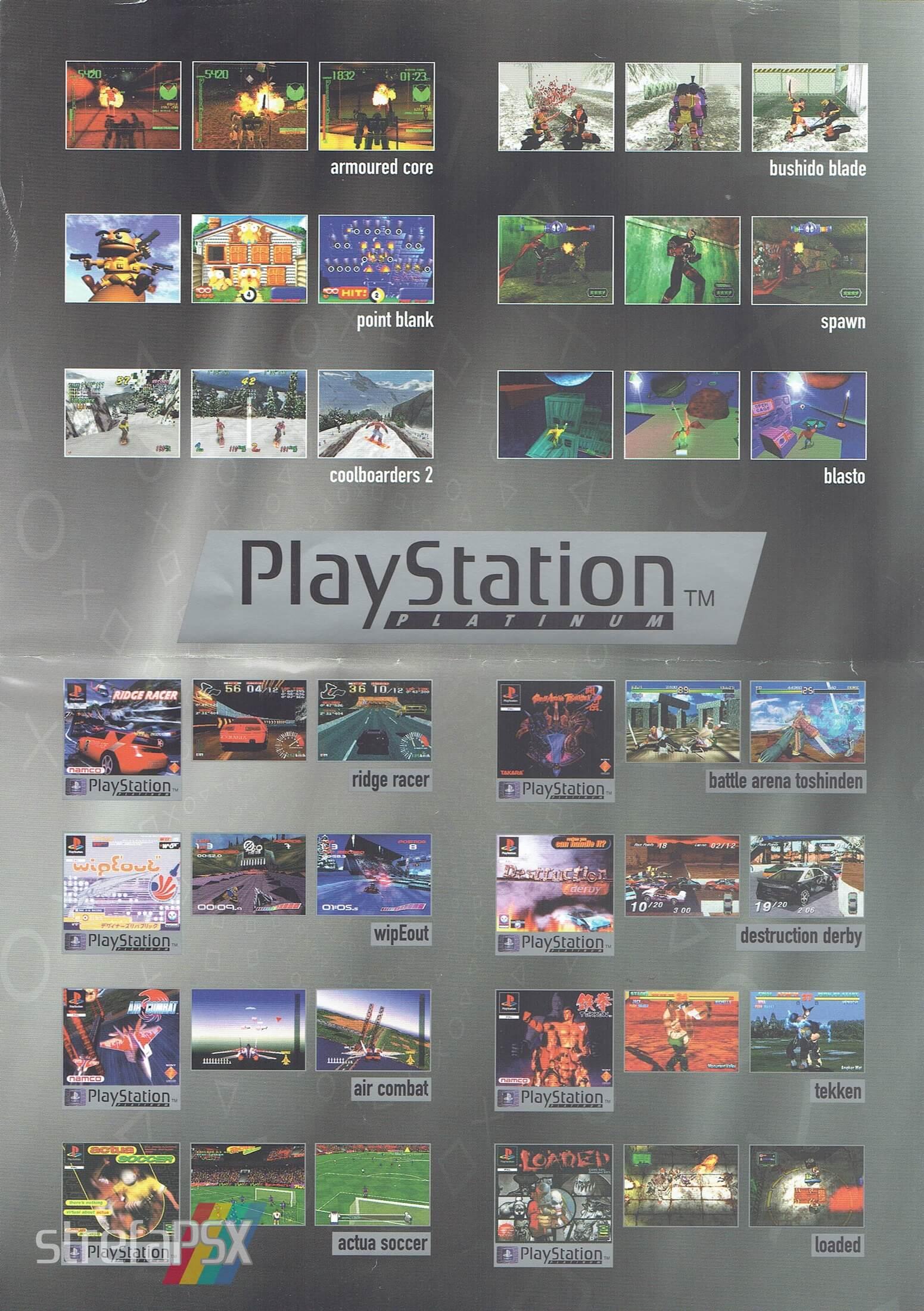 broszura reklamowa psx 20 - Broszury reklamowe PlayStation z dawnych lat