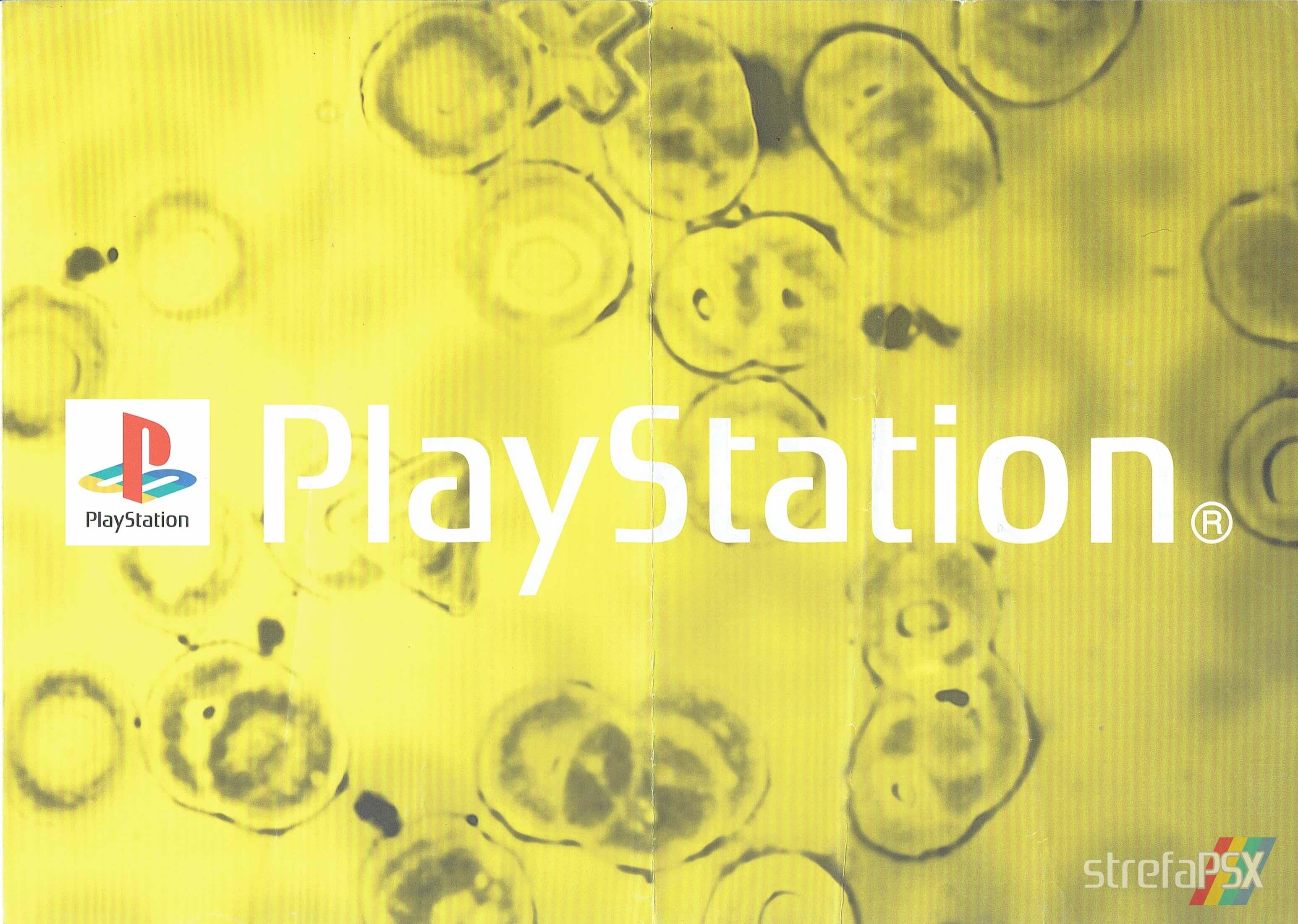 broszura reklamowa psx 201 - Broszury reklamowe PlayStation z dawnych lat