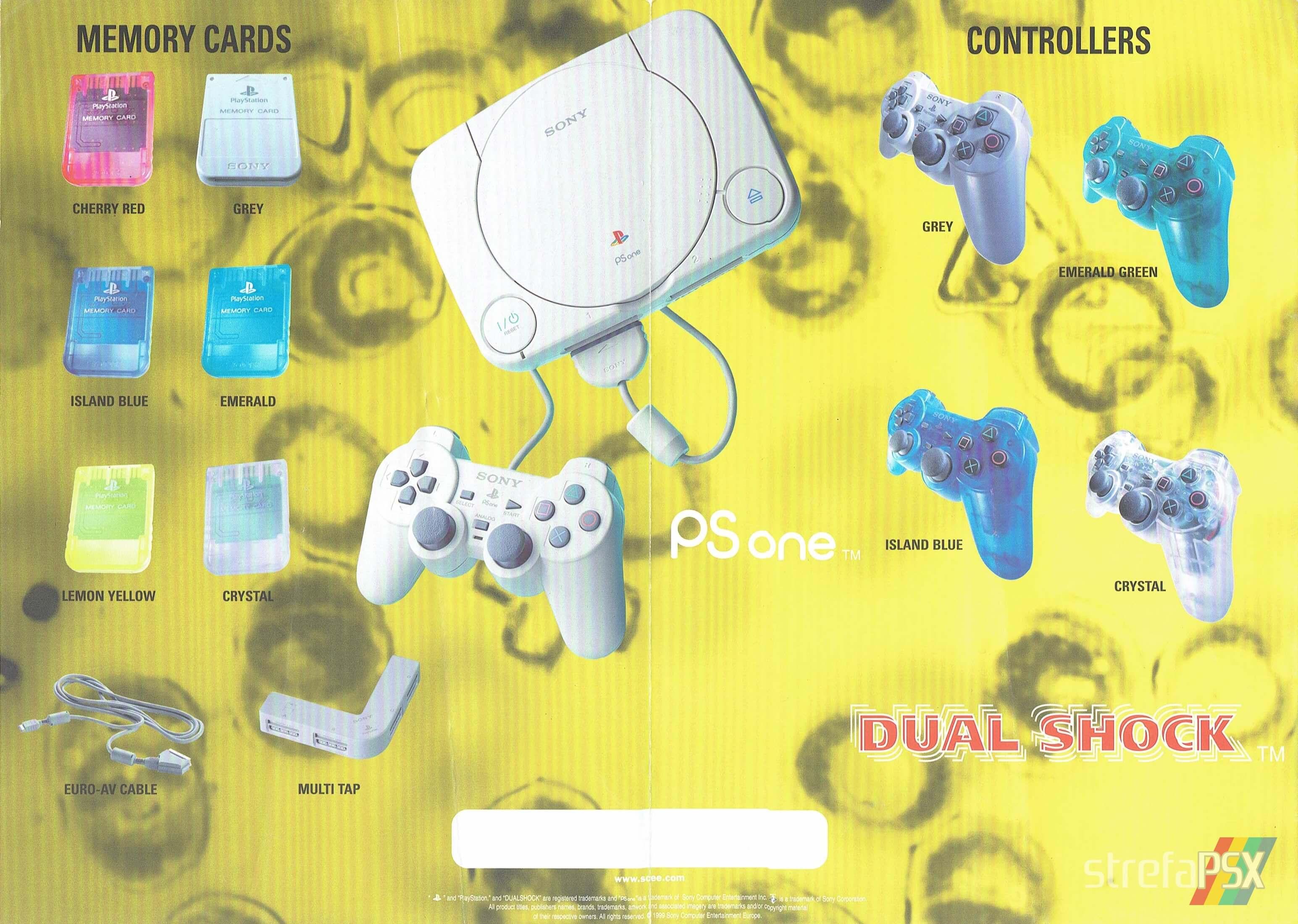 broszura reklamowa psx 202 - Broszury reklamowe PlayStation z dawnych lat