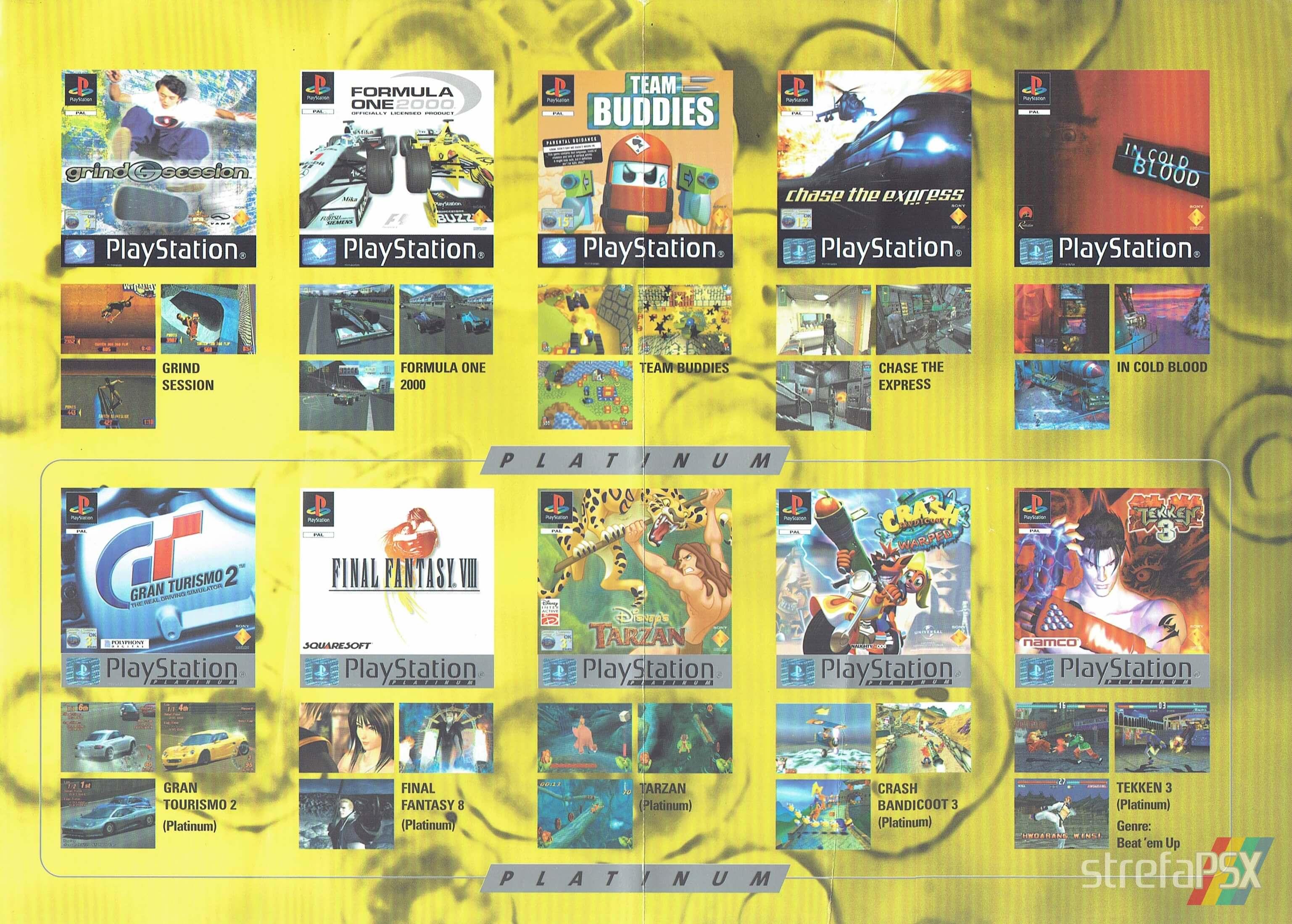 broszura reklamowa psx 204 - Broszury reklamowe PlayStation z dawnych lat