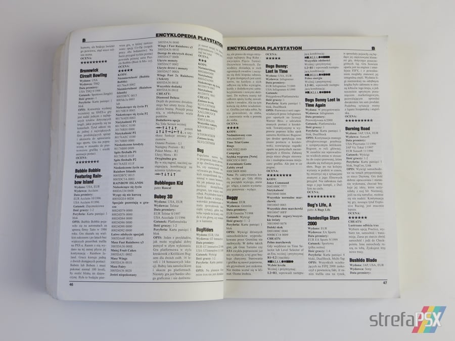 """encyklopedia psx 1995 2000 10 - """"Encyklopedia PSX 1995-2000"""" i krótki wywiad z jej twórcą"""