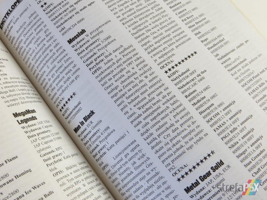 """encyklopedia psx 1995 2000 16 - """"Encyklopedia PSX 1995-2000"""" i krótki wywiad z jej twórcą"""