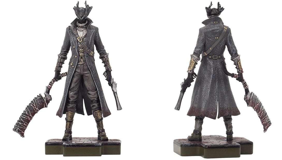 bloodborne hunter totaku - Totaku Collection - zestaw figurek z bohaterami PlayStation