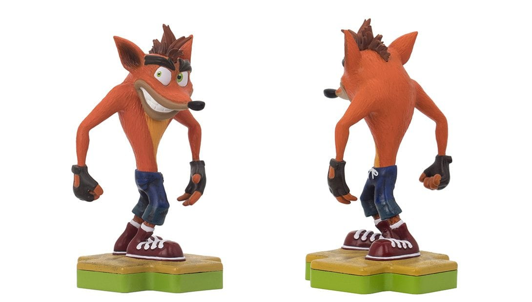 crash bandicoot totaku - Totaku Collection - zestaw figurek z bohaterami PlayStation