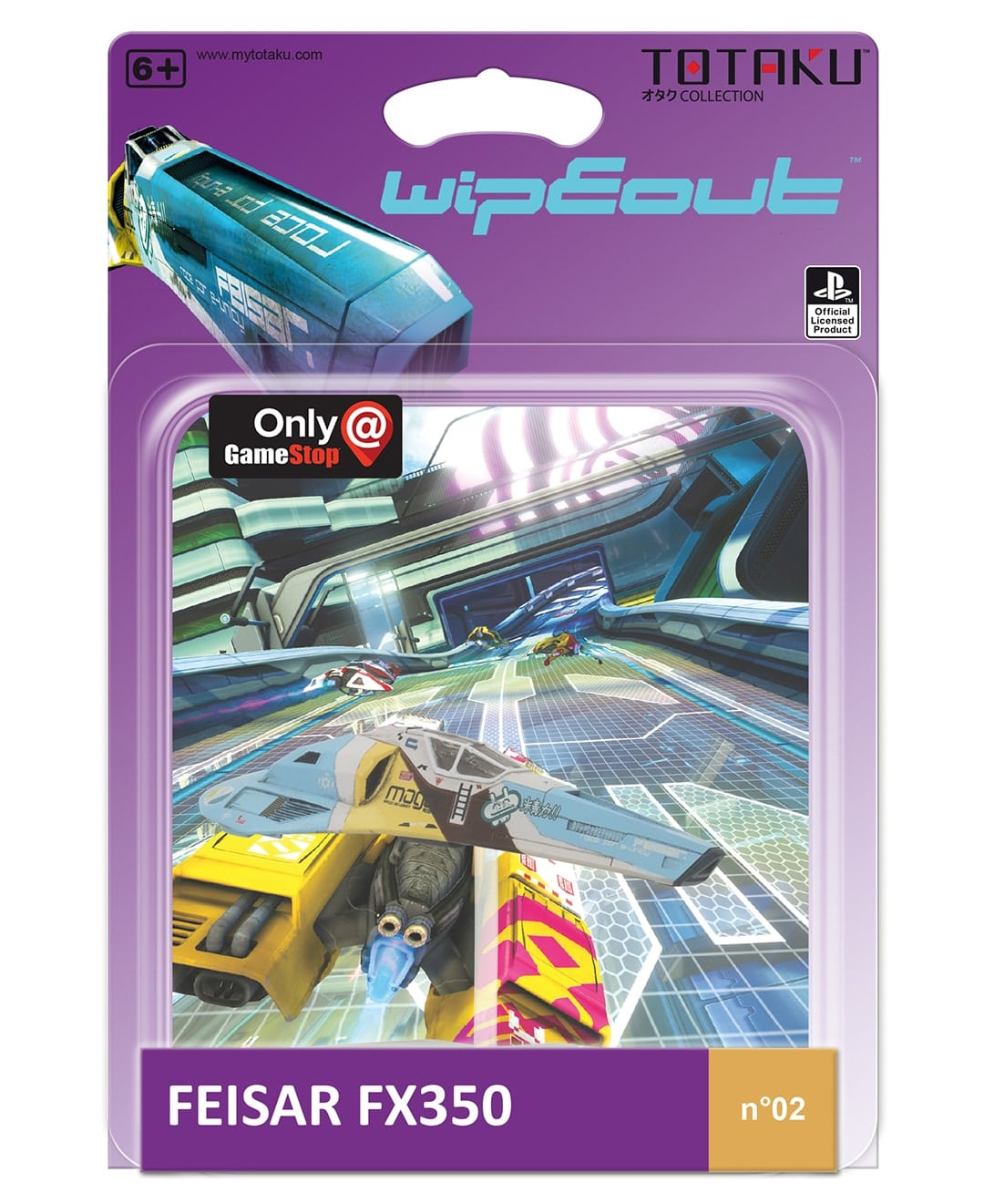 feisar wipeout totaku min - Totaku Collection - zestaw figurek z bohaterami PlayStation