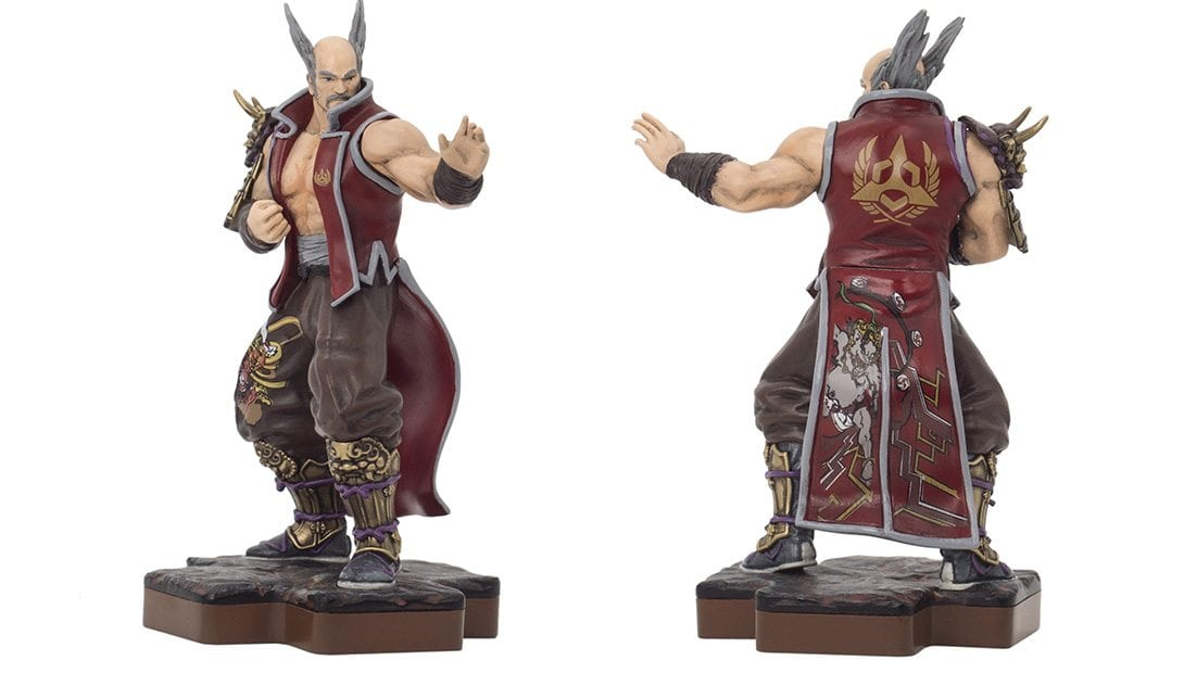 heihachi mishima totaku - Totaku Collection - zestaw figurek z bohaterami PlayStation