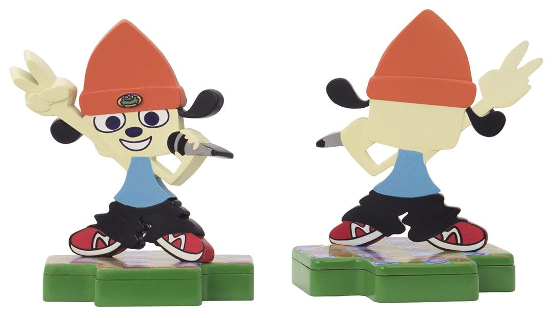paRappa the rapper totaku - Totaku Collection - zestaw figurek z bohaterami PlayStation