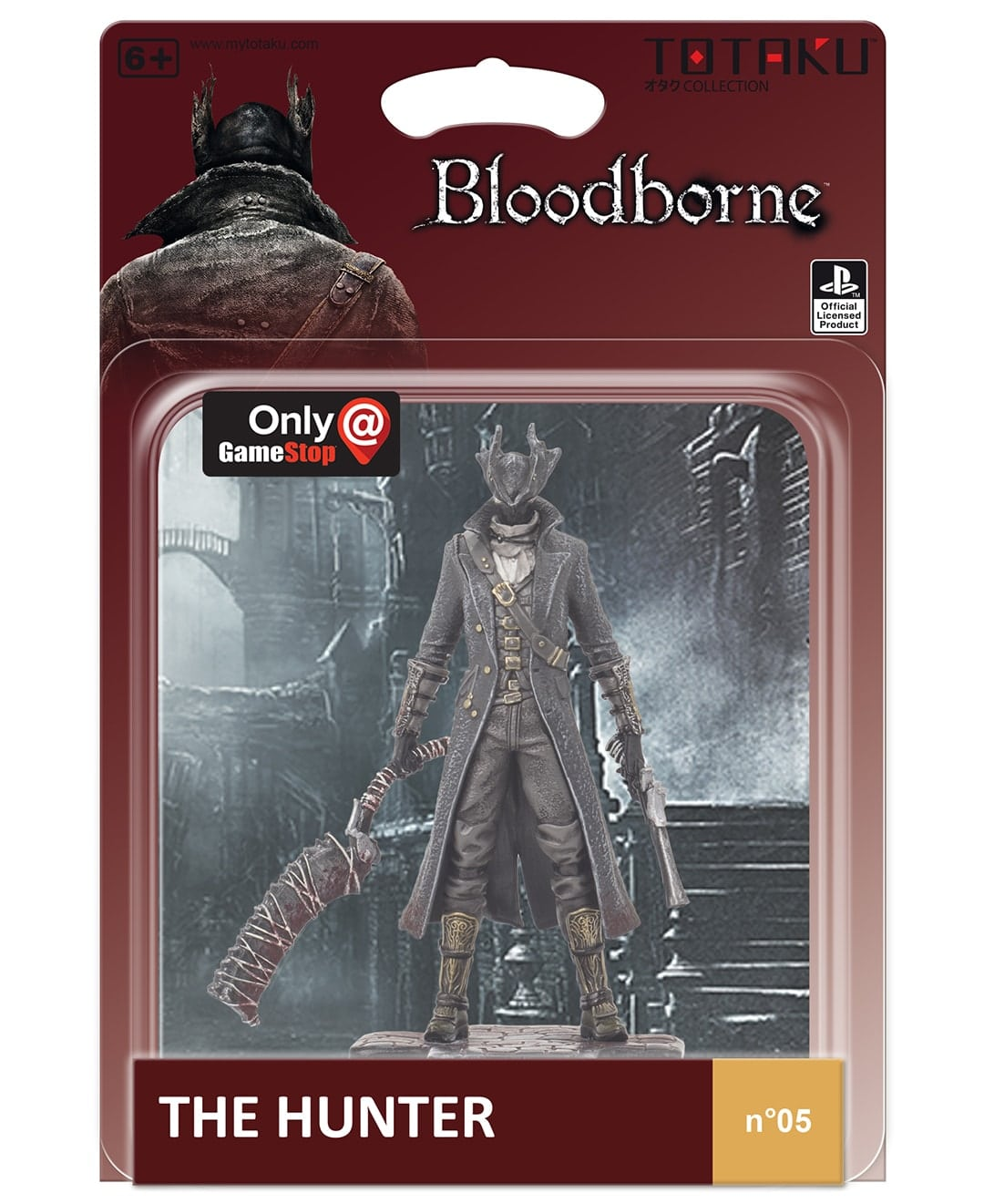 totaku cacciatore bloodborne box min - Totaku Collection - zestaw figurek z bohaterami PlayStation