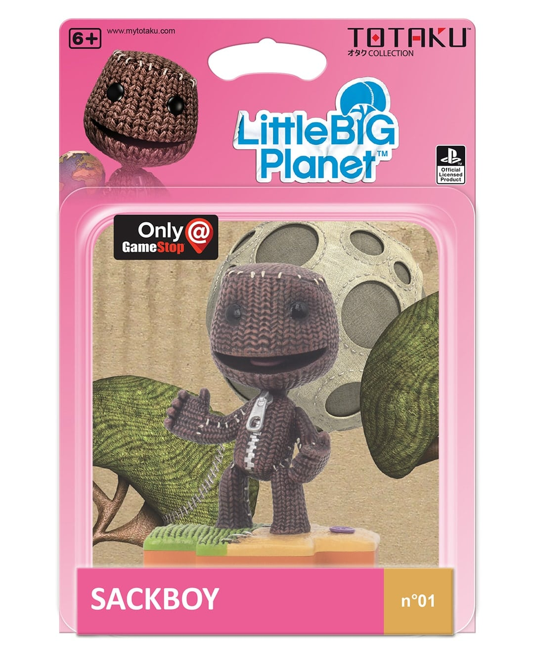 totaku sackboy box min - Totaku Collection - zestaw figurek z bohaterami PlayStation
