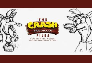 crash bandicoot files baner new reduced 1 320x220 - Artbook dla fanów pierwszego Crasha już w sprzedaży!
