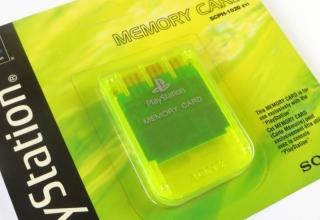 """memory card scph1020yi baner 320x220 - [SCPH-1020YI] Memory Card / Karta pamięci """"Lemon Yellow"""""""
