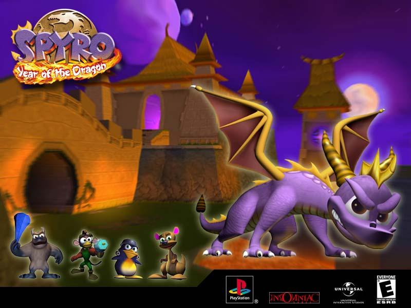 spyro year of the dragon 2 - Klasyczna trylogia Spyro the Dragon z czasów PSX powraca!