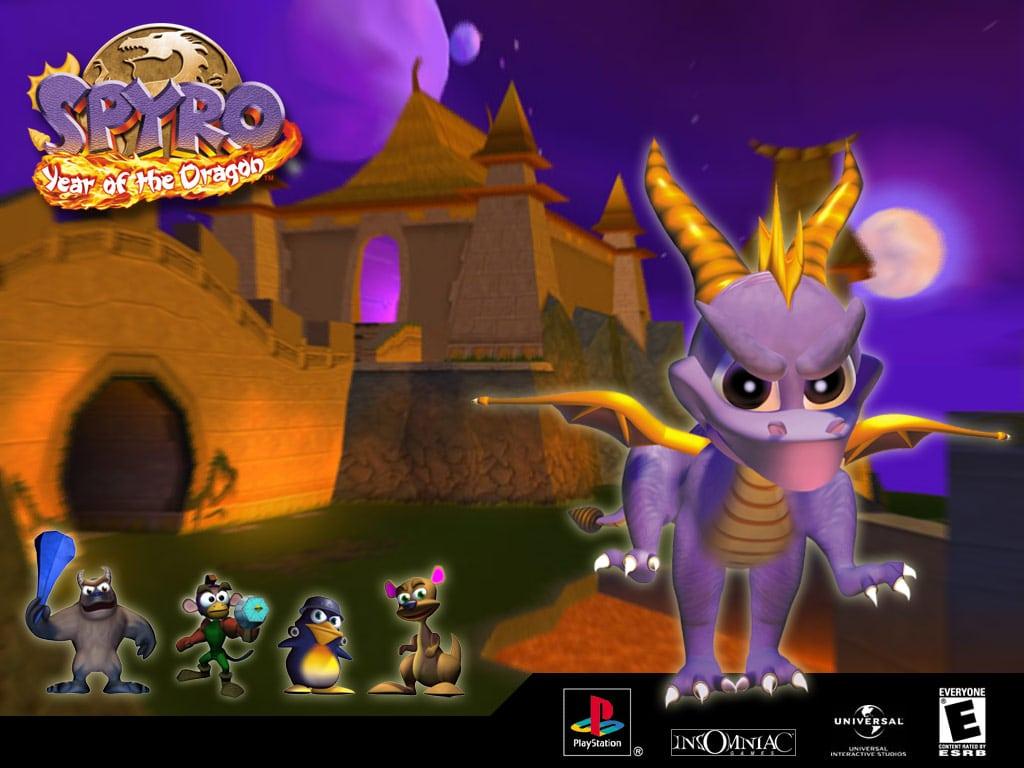 spyro year of the dragon 3 - Klasyczna trylogia Spyro the Dragon z czasów PSX powraca!