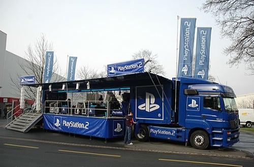 playstation 2 truck 1 - Ciężarówki PlayStation w trasie od ponad 20 lat