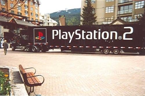 playstation 2 truck 2 - Ciężarówki PlayStation w trasie od ponad 20 lat