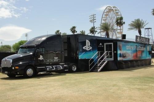 playstation 3 truck 2 - Ciężarówki PlayStation w trasie od ponad 20 lat