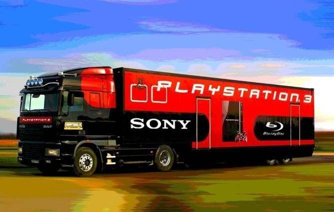 playstation 3 truck polska - Ciężarówki PlayStation w trasie od ponad 20 lat