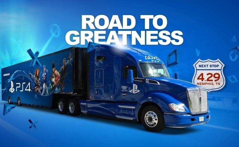 playstation truck - Ciężarówki PlayStation w trasie od ponad 20 lat