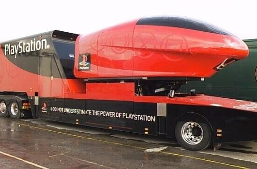 playstation truck 2 - Ciężarówki PlayStation w trasie od ponad 20 lat