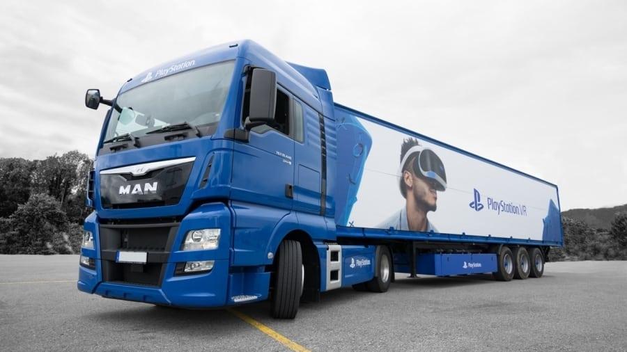 playstation truck europe 3 - Ciężarówki PlayStation w trasie od ponad 20 lat