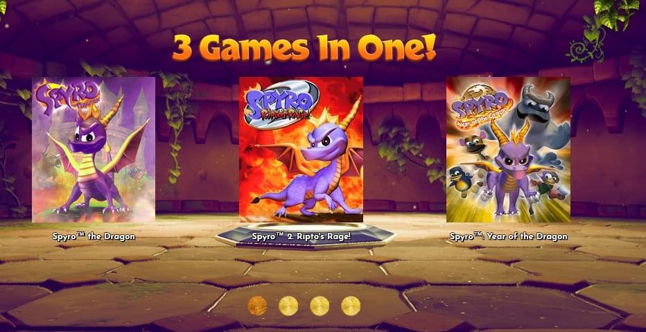 spyro ps42 - Klasyczna trylogia Spyro the Dragon z czasów PSX powraca!
