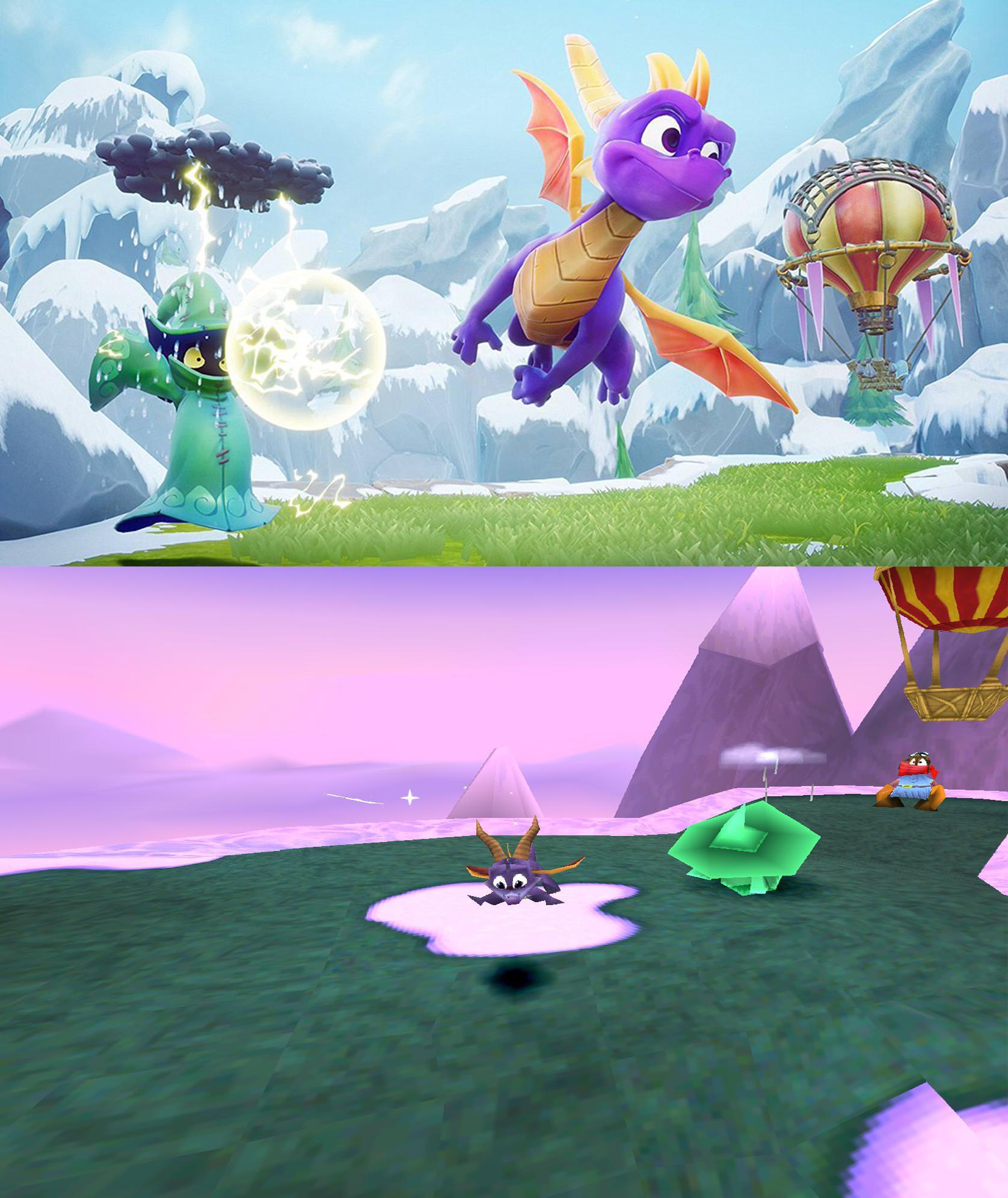 vfkykYf - Klasyczna trylogia Spyro the Dragon z czasów PSX powraca!
