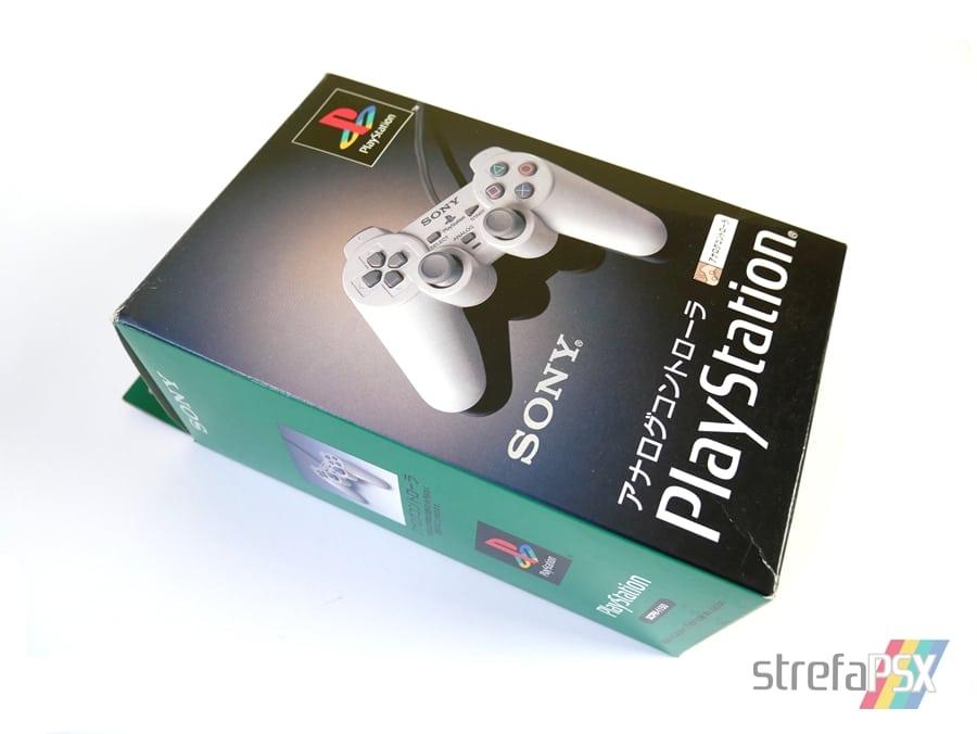 dual analog playstation scph01 - Historia kontrolerów PlayStation cz. III - Dual Analog i jego rywalizacja z padem od Nintendo 64