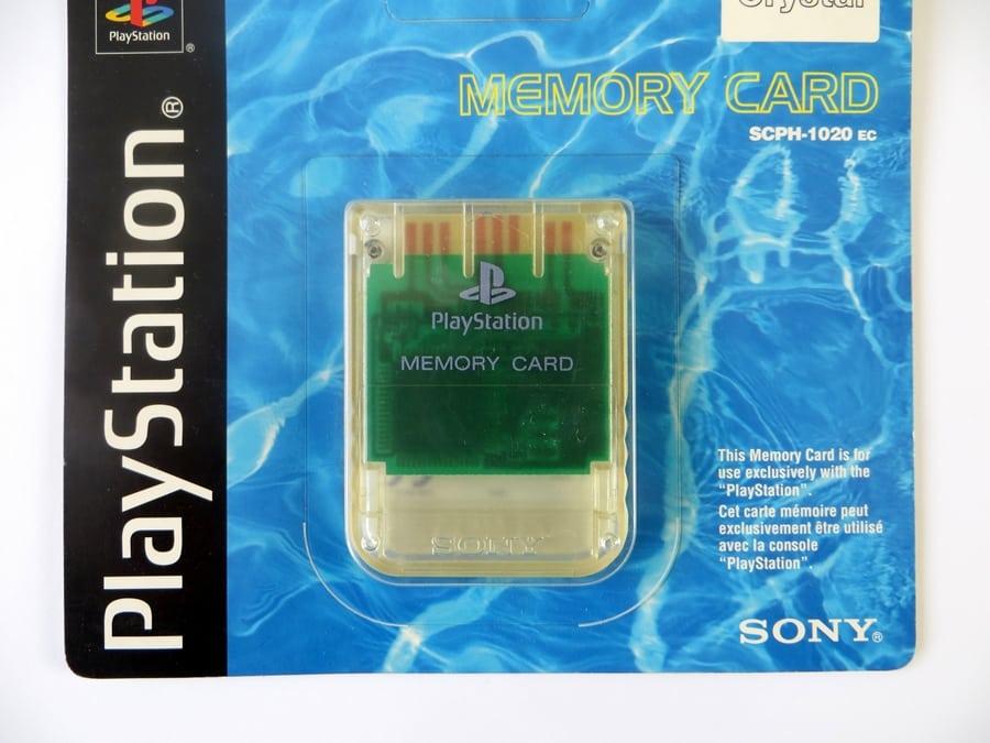 "memory card scph1020c 4 - [SCPH-1020C] Memory Card / Karta pamięci ""Crystal"""