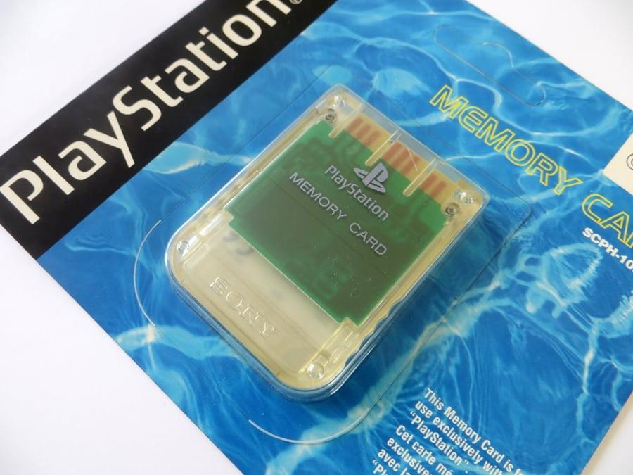 "memory card scph1020c 7 - [SCPH-1020C] Memory Card / Karta pamięci ""Crystal"""