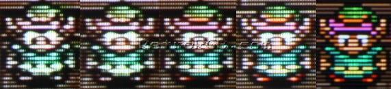 monitor rgb porownanie 2 - Wykorzystanie monitorów RGB w retrogamingu
