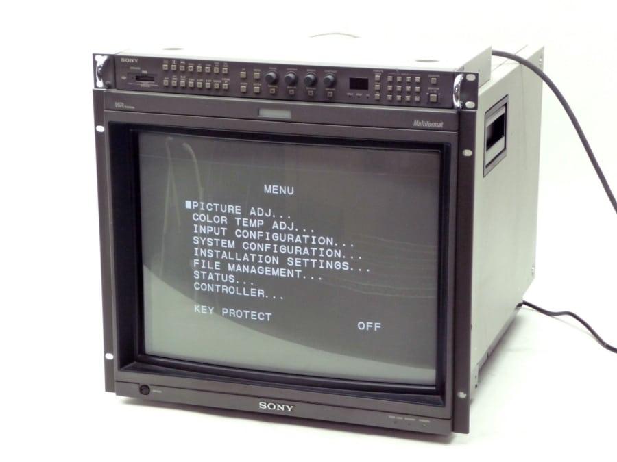 monitor rgb sony bvm - Wykorzystanie monitorów RGB w retrogamingu