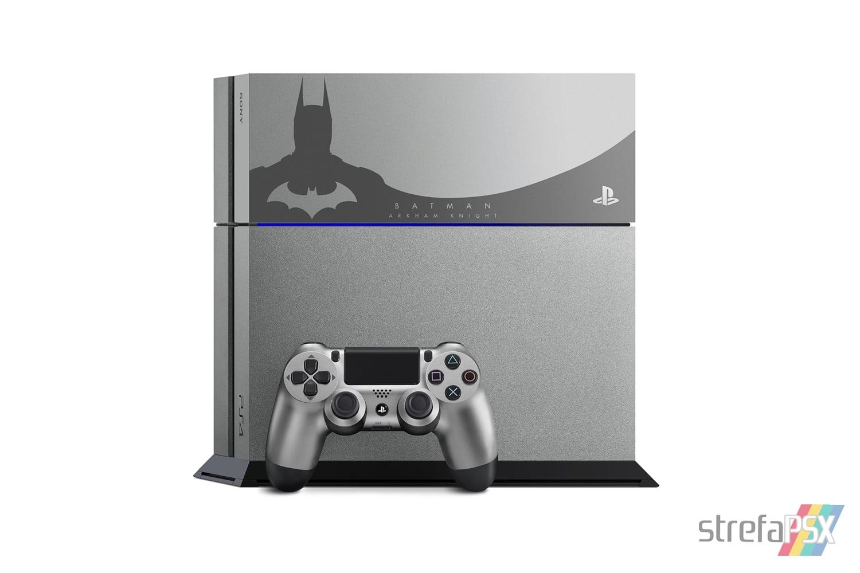 "ps4 batman arkham limited 03 - PlayStation 4 FAT 500GB ""Batman Arkham Knight"" Limited Edition"