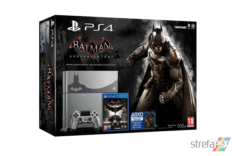 "ps4 batman arkham limited 07 - PlayStation 4 FAT 500GB ""Batman Arkham Knight"" Limited Edition"