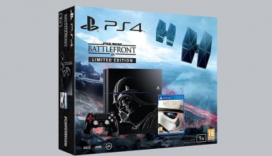 "ps4 battlefront limited baner 384x220 - PlayStation 4 FAT 500GB / 1TB ""Star Wars: Battlefront"" Limited Edition"