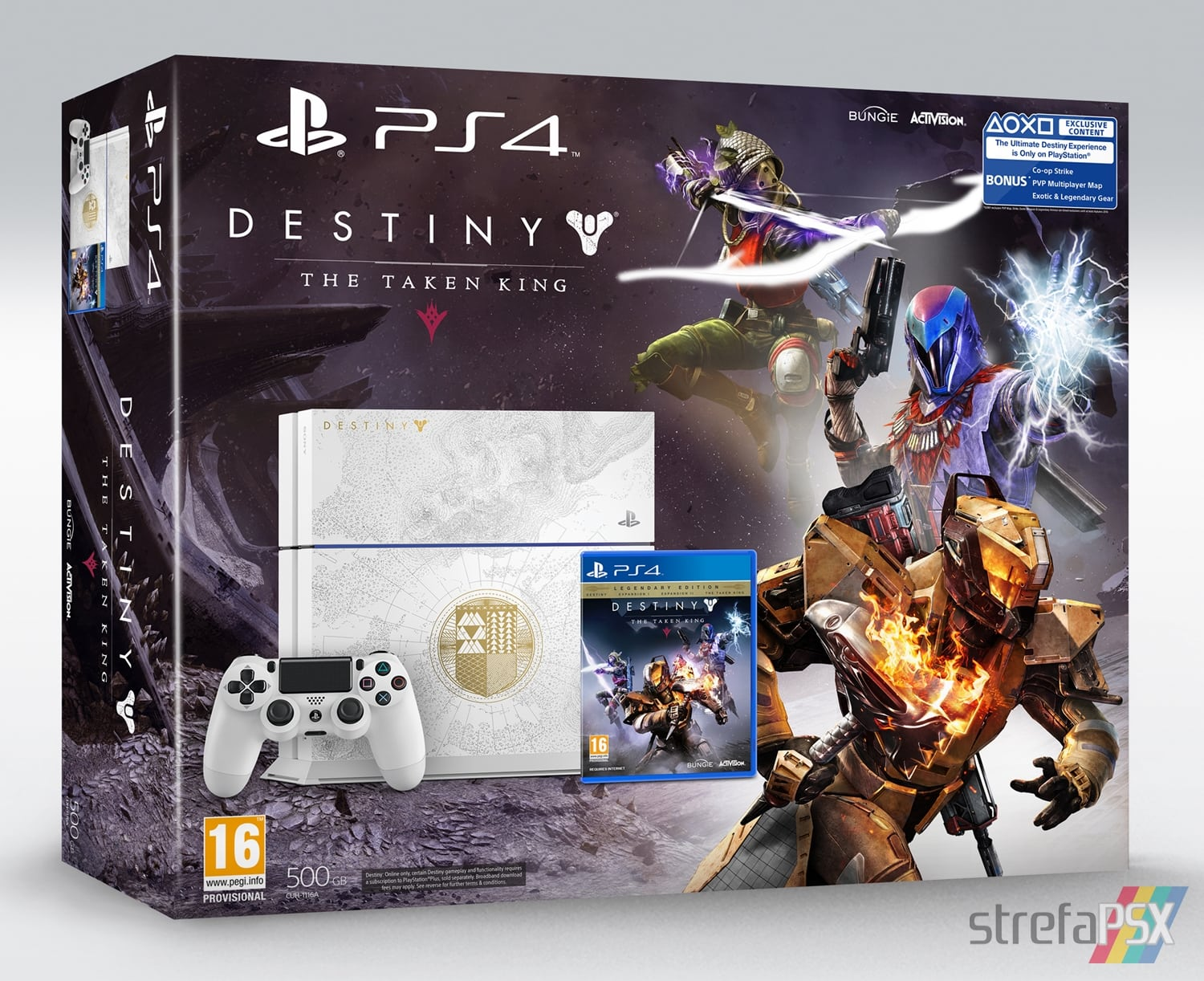 "ps4 destiny limited 01 - PlayStation 4 FAT 500 GB ""Destiny: The Taken King"" Limited Edition"