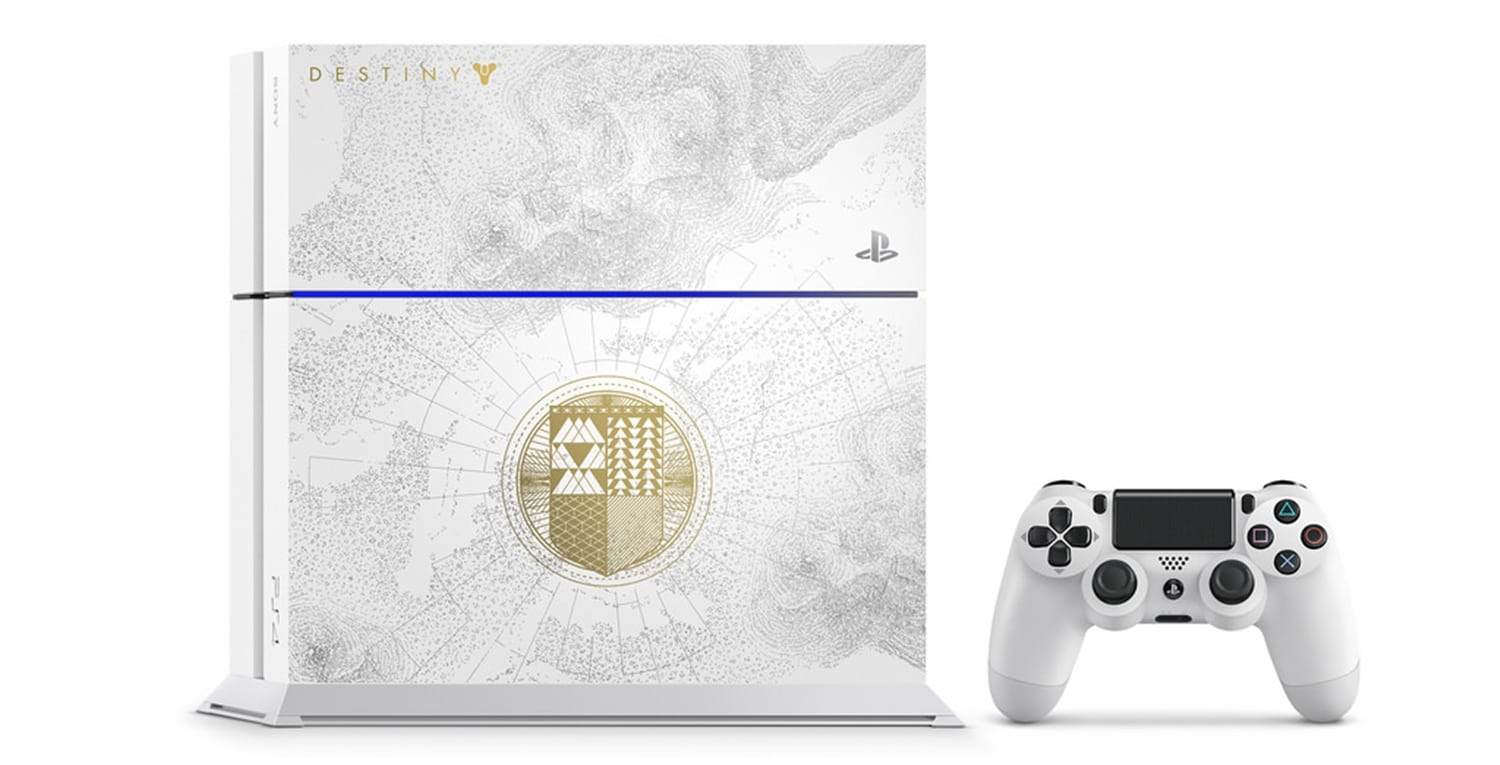 "ps4 destiny limited 09 - PlayStation 4 FAT 500 GB ""Destiny: The Taken King"" Limited Edition"