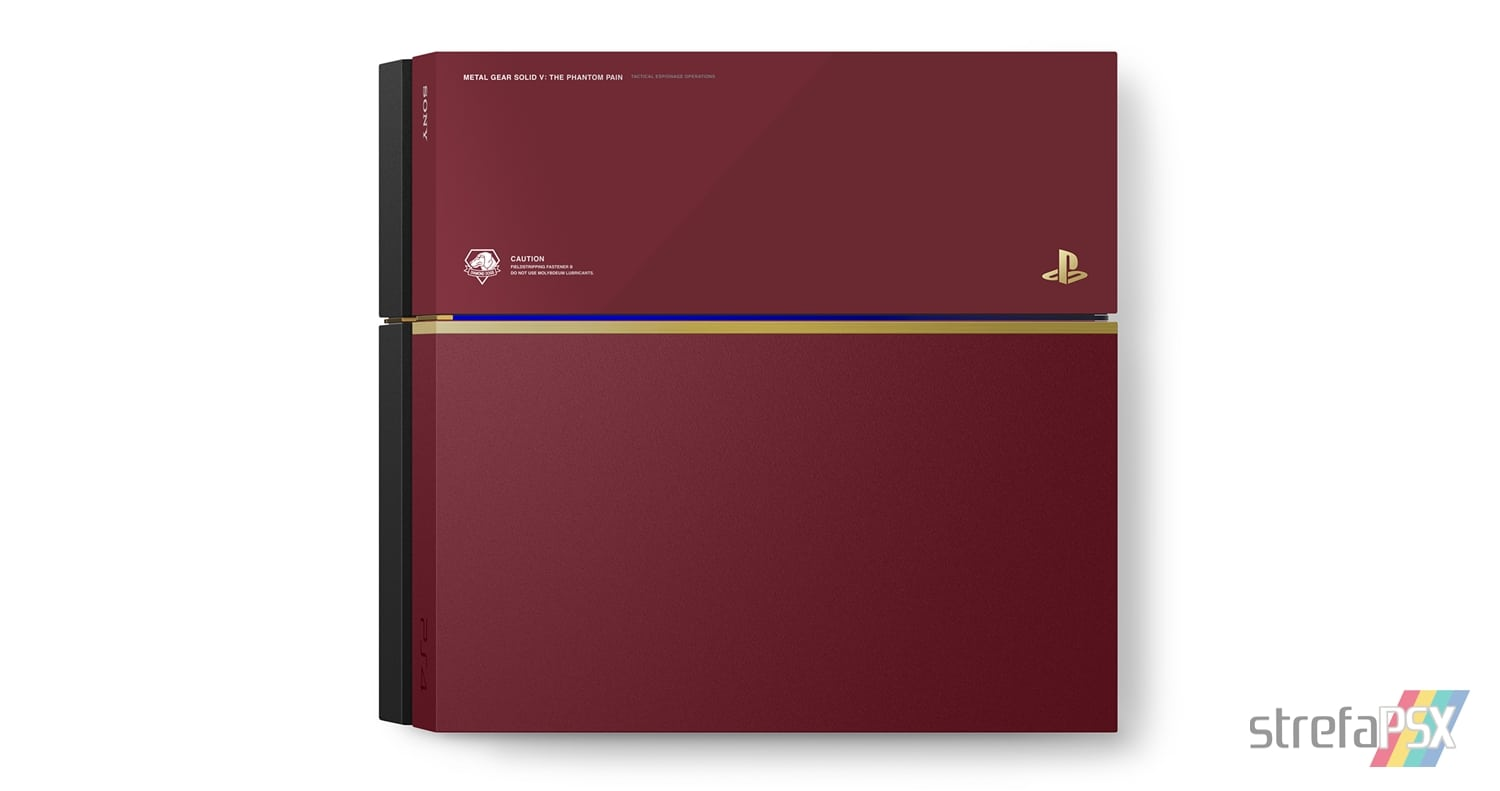 "ps4 metal gear solid 04 - PlayStation 4 FAT 500GB ""Metal Gear Solid V: The Phantom Pain"" Limited Edition"
